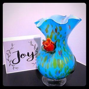 Home Decor Glass Vase